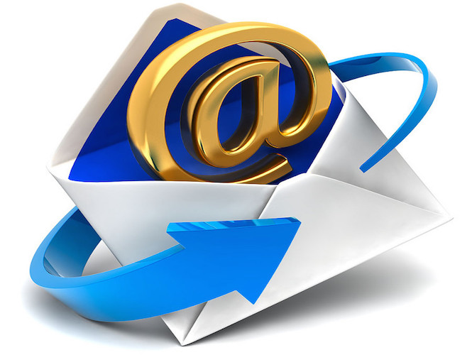 une email