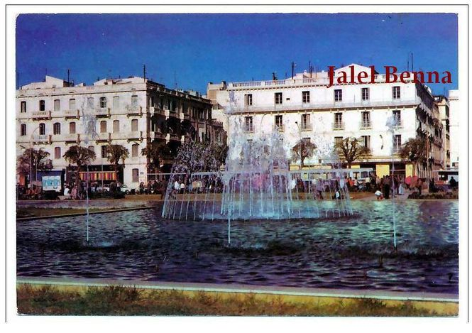 Tunis Place Barcelone
