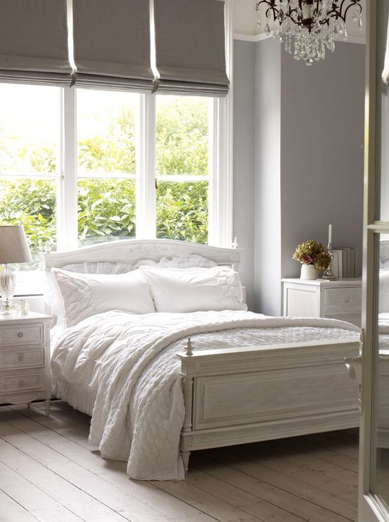 20 Chambres A Coucher Blanches Reperees Sur Pinterest